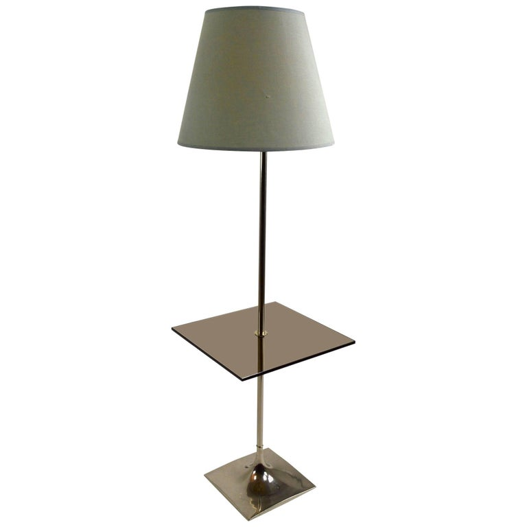 Floor Table Lamp by Laurel For Sale