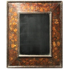 Unusual 18th Century Dutch Japanned Mirror
