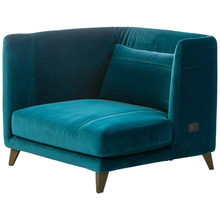 """Gimme More"" Left or Right Armchair with Fiber or Goose by Moroso for Diesel For Sale"