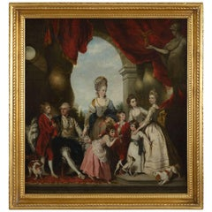 John Powell Portrait of the 4th Duke of Marlborough and His Family