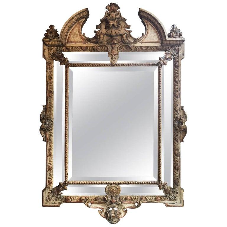19th Century Italian Baroque Mirror