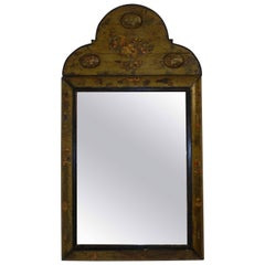 Dutch Painted and Decoupage Mirror, circa 1800