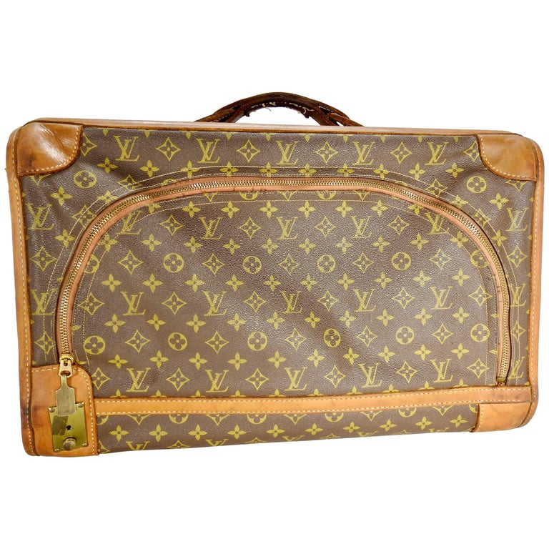 Vintage Louis Vuitton Soft Case Overnight Luggage For