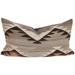 Navajo Indian Weaving Eye Dazzler Bolster Pillow