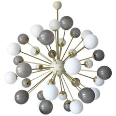 Nova Gray & White Sputnik