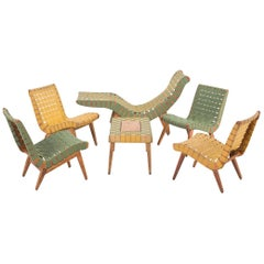 Jens Risom Style Furniture Set