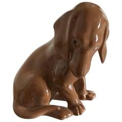 Bing & Grondahl Figurine Dachshund #1755