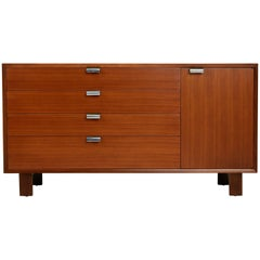 George Nelson for Herman Miller Cabinet Dresser, Signed, circa 1950