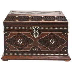 Midcentury Moroccan Chest or Jewelry Box