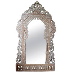 Syrian Mother-of-Pearl Inlaid Mirror
