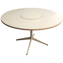 George Nelson Herman Miller Lazy Susan Dining Table