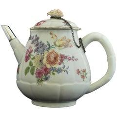 Teapot in Artichoke Shape, Chelsea, circa 1755