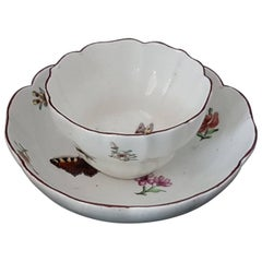 Tea bowl and Saucer, Chelsea, circa 1752