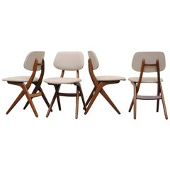 Set of Four Webe Pelican Dining Chairs