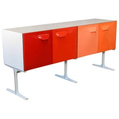 Raymond Loewy DF-2000 Double-Sided Cabinet