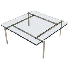 Original PK61 Cocktail Table by Poul Kjaerholm