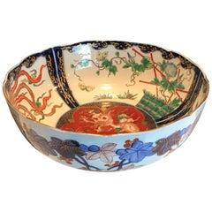 Chinese Imari Centre Bowl