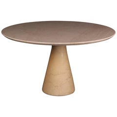 Angelo Mangiarotti Style Dining Table
