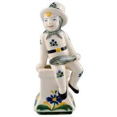 Aluminia, Denmark Childcare Figure Chimney Sweeper from 1953