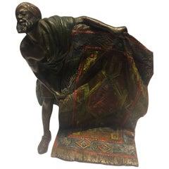 Early 20th Century, Orientalist, Bergman Style Bronze Sculpture, Austrian