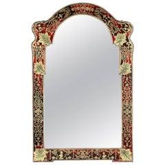 19th Century French Verre Églomisé Mirror