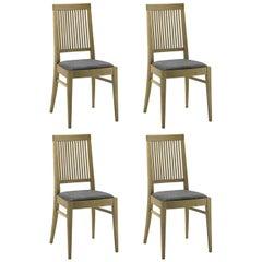 Set of Four Morandi Chairs