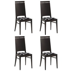 Set of Four Mirò Chairs