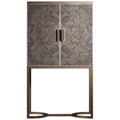 Bluemoon Bronze Bar Cabinet