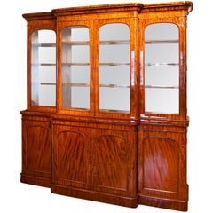 Biedermeier Library Bookcase, Germany, 1830s