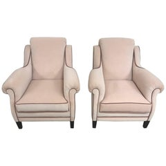 Fine and Elegant 1950s Pair of Armchairs