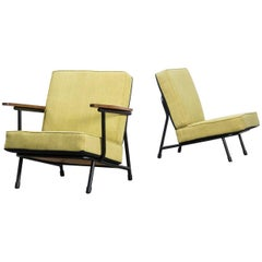 1950s Alf Svensson '013' Low Back Chairs for DUX, Set of Two