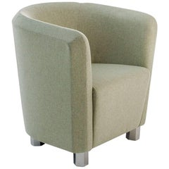 """Deco Futura"" Small Armchair with Steel Frame and Fiber by Moroso for Diesel"