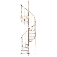 Antique Spiral Staircase, 19th Century