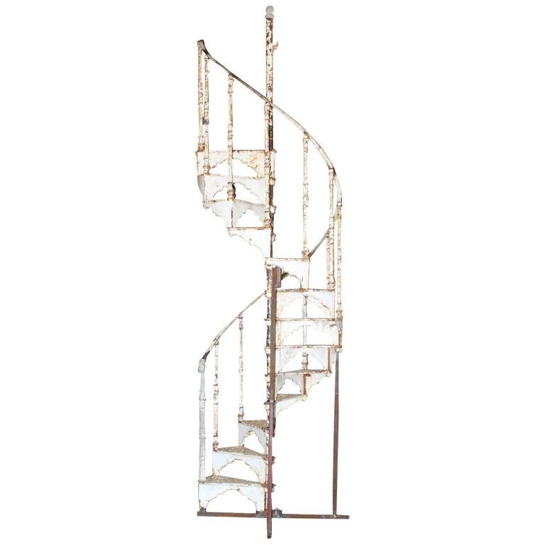 Antique Spiral Staircase, 19th Century
