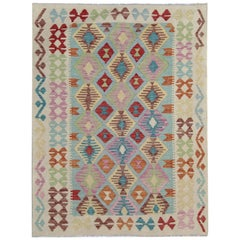 Handmade Primitive Kilim Rugs, Traditional Rugs, Carpet from Afghanistan