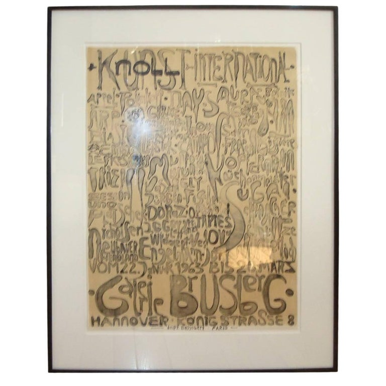 Paul Wunderlich Lithograph for Knoll Art