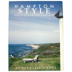 """Hampton Style, Houses Gardens Artists,"" First Edition"