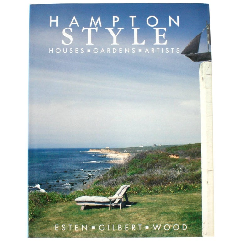"""""""Hampton Style, Houses Gardens Artists,"""" First Edition"""