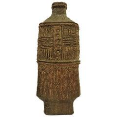 Large Mid-Century Modern American Studio Ceramic Stoneware Vase