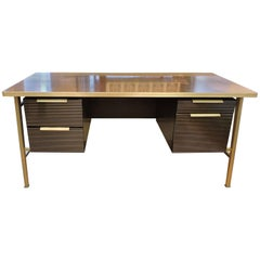Gordon Bunshaft Mid-Century Modern Italic Desk for General Fireproofing Co.