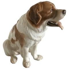 Bing & Grøndahl Figurine of St. Bernard Dog #1916