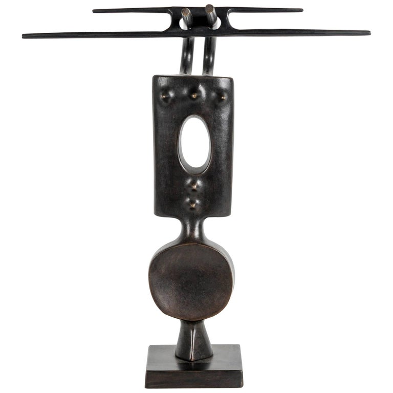 Bronze Sculpture by Victor Roman For Sale