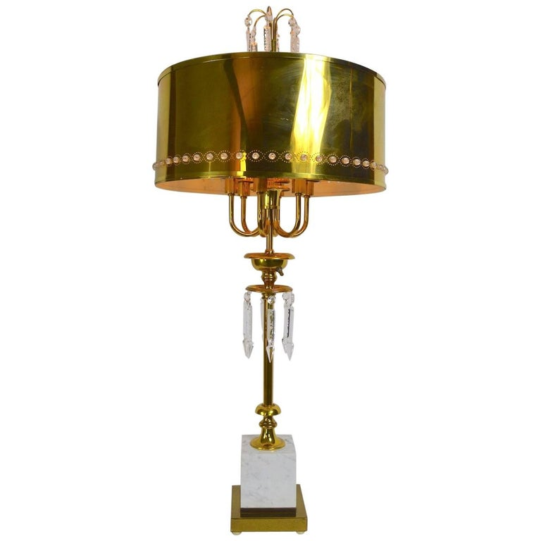 Brass Table Lamp after Tommi Parzinger