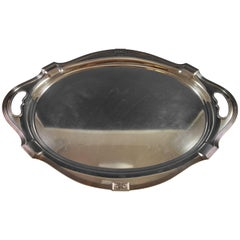 Lansdowne by Gorham Sterling Silver Tea Tray with Eagle Mono #A10736 Hollowware