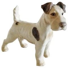 Bing & Grondahl Figurine Wire Fox Terrier #1998