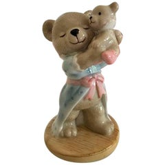 Bing & Grøndahl Victor and Victoria's Family Victoria 2000 Teddy Bear Figurine