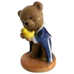 Bing & Grondahl Victor & Victoria's Family Victor 2001 Annual Teddybear Figurine
