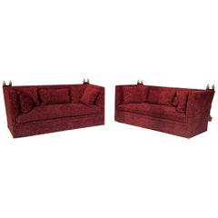 Pair of Knole Sofas