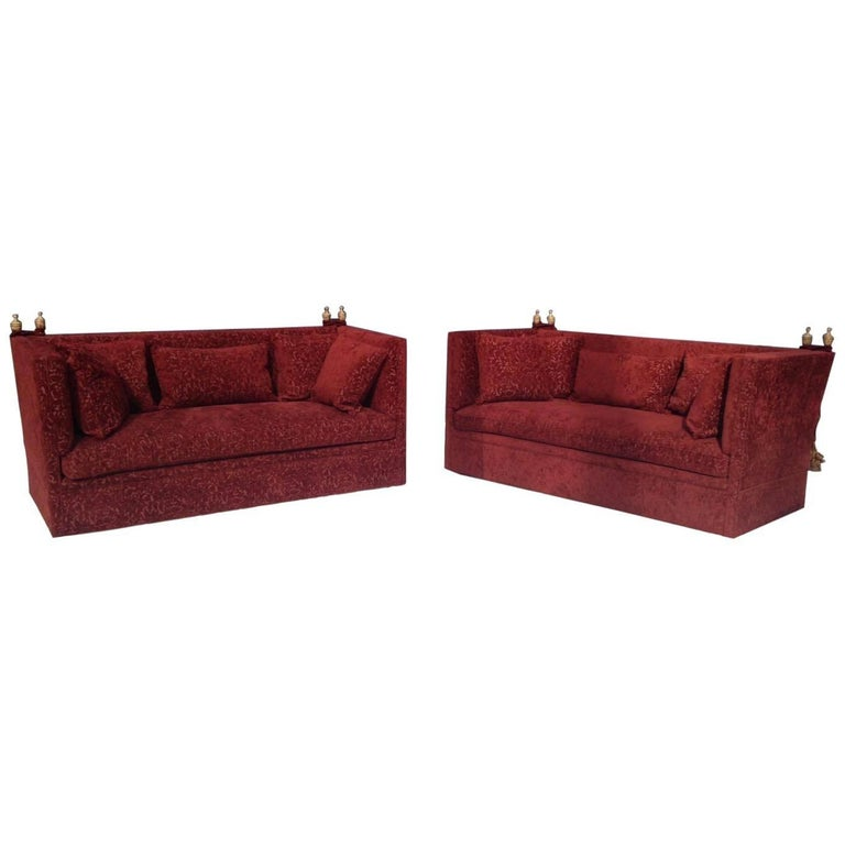 Pair of Knole Sofas