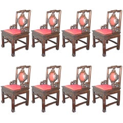 Set of Eight Chinese Chairs